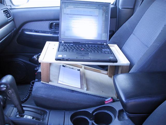 car laptop desk. Black Bedroom Furniture Sets. Home Design Ideas